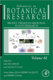 Recent Trends in Medicinal Plants Research : Volume 62, Hardback Book