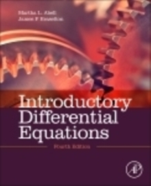 Introductory Differential Equations, Hardback Book