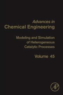 Modeling and Simulation of Heterogeneous Catalytic Processes : Volume 45, Hardback Book
