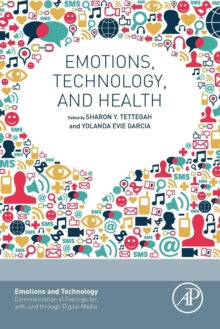 Emotions, Technology, and Health, Paperback Book
