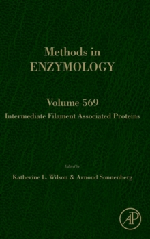 Intermediate Filament Associated Proteins : Volume 569, Hardback Book
