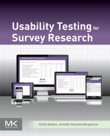 Usability Testing for Survey Research, Paperback / softback Book