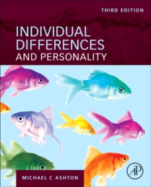 Individual Differences and Personality, Hardback Book
