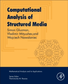 Computational Analysis of Structured Media, Paperback / softback Book