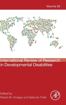 International Review of Research in Developmental Disabilities : Volume 55, Hardback Book