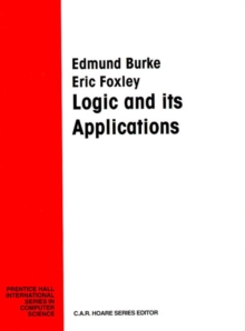 Logic & Its Applications, Paperback Book