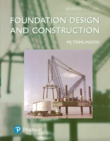 Foundation Design and Construction, Paperback Book