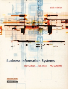 Business Information Systems, Paperback Book