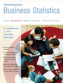 Contemporary Business Statistics with Canadian Applications, Third Canadian Edition, Paperback / softback Book