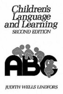 Children's Language and Learning, Paperback Book