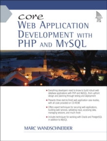 Core Web Application Development with PHP and MySQL, Mixed media product Book
