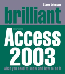 Brilliant Access 2003, Paperback Book