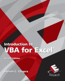 Introduction to VBA for Excel, Paperback / softback Book