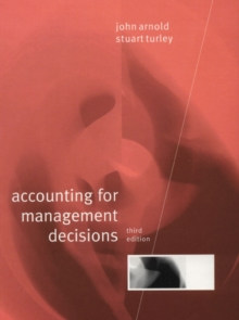 Accounting for Management Decisions, Paperback Book