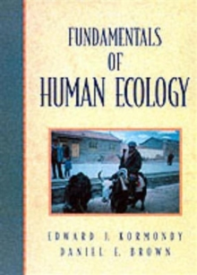 Fundamentals of Human Ecology, Paperback / softback Book