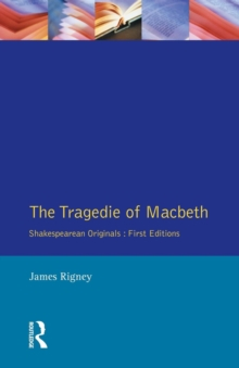 The Tragedie of Macbeth : The Folio of 1623, Paperback / softback Book