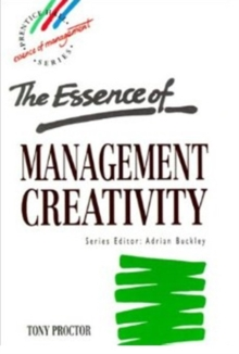 Essence Management Creativity, Paperback Book