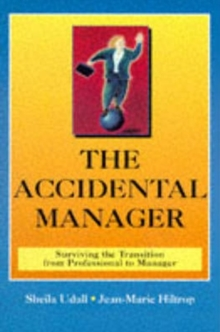 Accidental Manager, Paperback Book