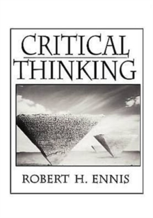 Critical Thinking, Paperback Book