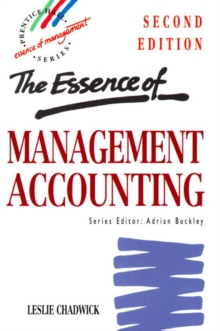 The Essence of Management Accounting, Paperback Book