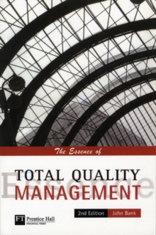 The Essence of Total Quality Management, Paperback Book