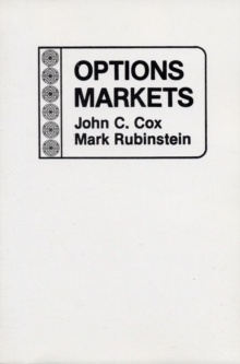Options Markets, Paperback Book