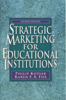 Strategic Marketing for Educational Institutions, Paperback Book