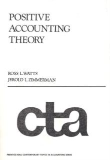 Positive Accounting Theory, Paperback Book