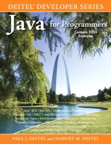 Java for Programmers, Paperback Book