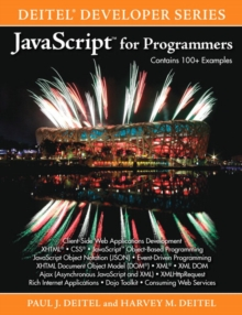 JavaScript for Programmers, Paperback Book