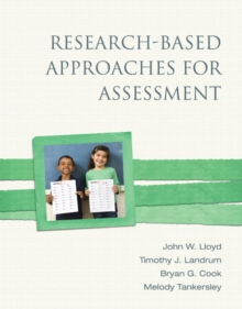 Research-Based Approaches for Assessment, Paperback / softback Book