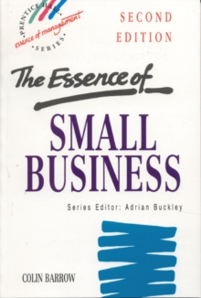 The Essence of Small Business, Paperback Book