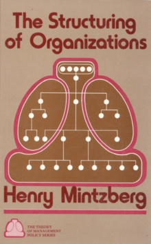 Structuring of Organizations, Hardback Book