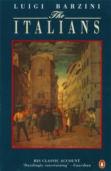 The Italians, Paperback Book
