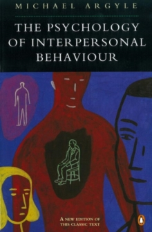 The Psychology of Interpersonal Behaviour, Paperback Book