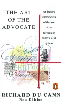 The Art of the Advocate, Paperback Book