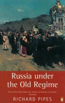 Russia Under the Old Regime, Paperback Book