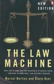 The Law Machine, Paperback Book