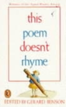 This Poem Doesn't Rhyme, Paperback Book