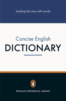Penguin Concise English Dictionary, Paperback Book