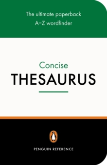 The Penguin Concise Thesaurus, Paperback Book