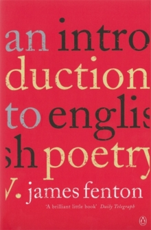 An Introduction to English Poetry, Paperback Book