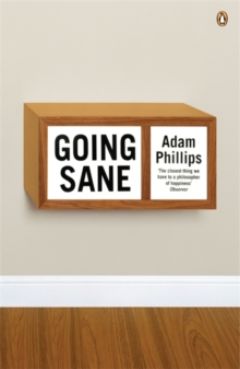 Going Sane, Paperback Book