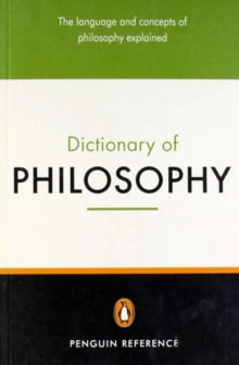 The Penguin Dictionary of Philosophy, Paperback Book
