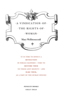 A Vindication of the Rights of Woman, Paperback Book