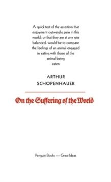 On the Suffering of the World, Paperback / softback Book