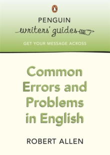 Common Errors and Problems in English, Paperback Book