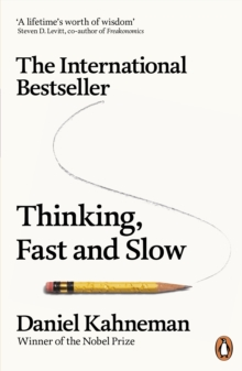 Thinking, Fast and Slow, Paperback / softback Book