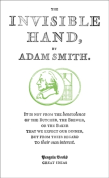 The Invisible Hand, Paperback / softback Book