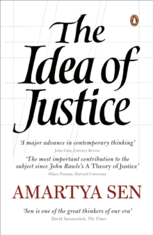 The Idea of Justice, Paperback Book